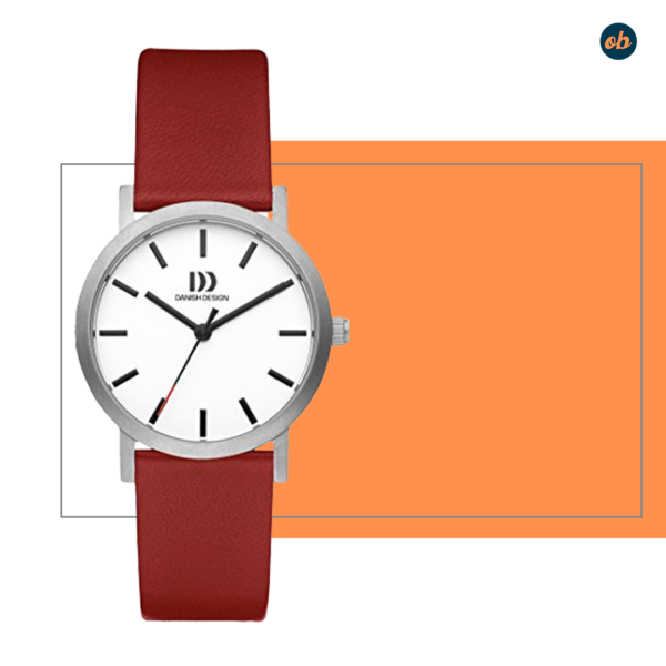 Danish Design - Women's leather strap Watch