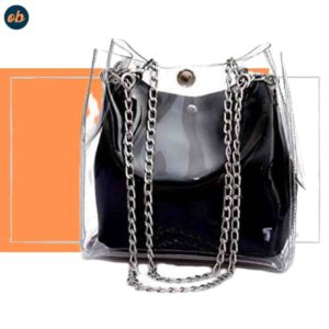 Transparent Purse Shoulder Handbag