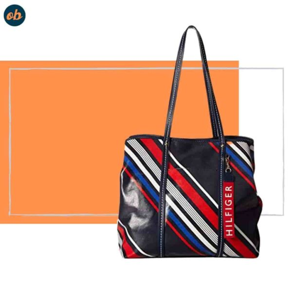 Tommy Hilfiger Striped Handbag