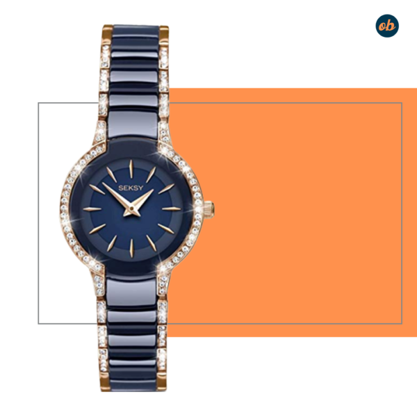 SEKONDA Classic Watch with Brass Strap
