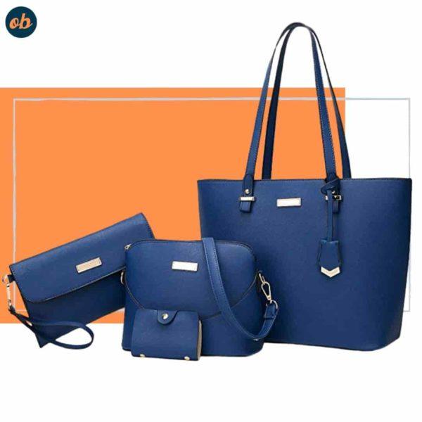Satchel Shoulder Handbag With Wallet