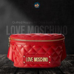 Love Moschino Women's Borsa Quilted Nappa Pu Cross-Body Bag