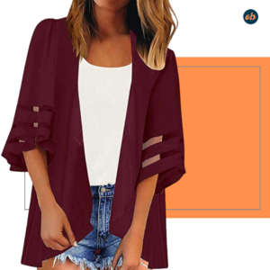 Chiffon Loose Cover Ups Outerwear