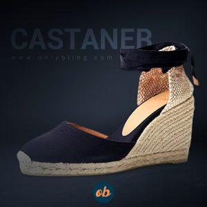 Castañer Women's's Carina/8/001 Espadrilles