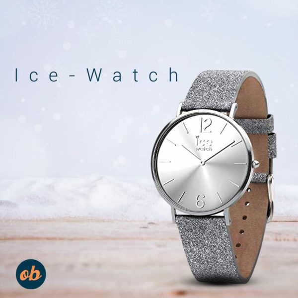 Ice-Watch Women's Analogue Quartz Watch with Leather Strap 15080