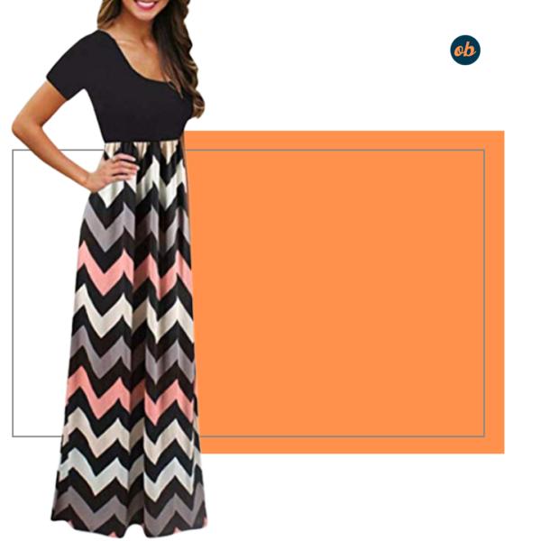 Floral Print Casual Long Maxi Dress