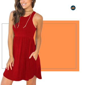 Summer Casual Dress Swimsuit Cover Ups