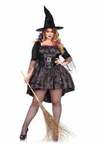 Trendy Plus Size Halloween Dress 2019