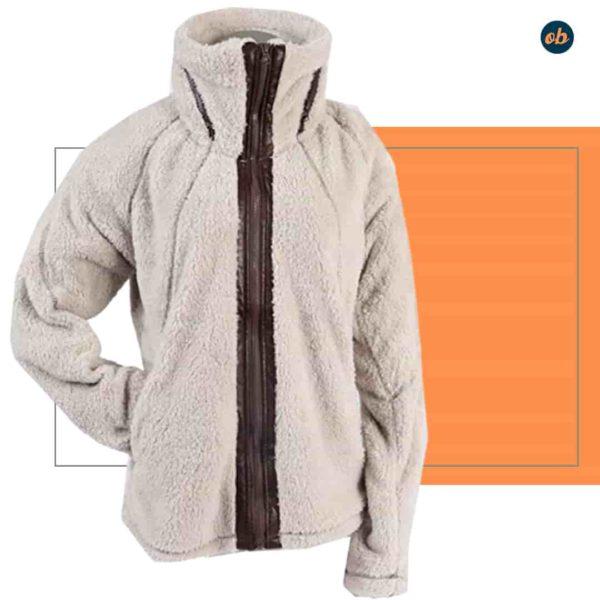 Full Zip Warm Winter Jacket Outerwear