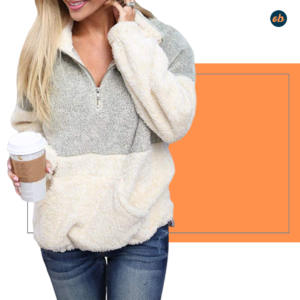 Cozy Oversize Pullover Sweatshirt Outerwear