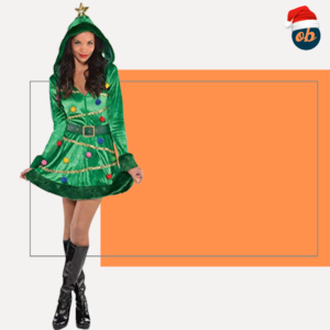 Christmas Xmas Tree Adult Costume Dress