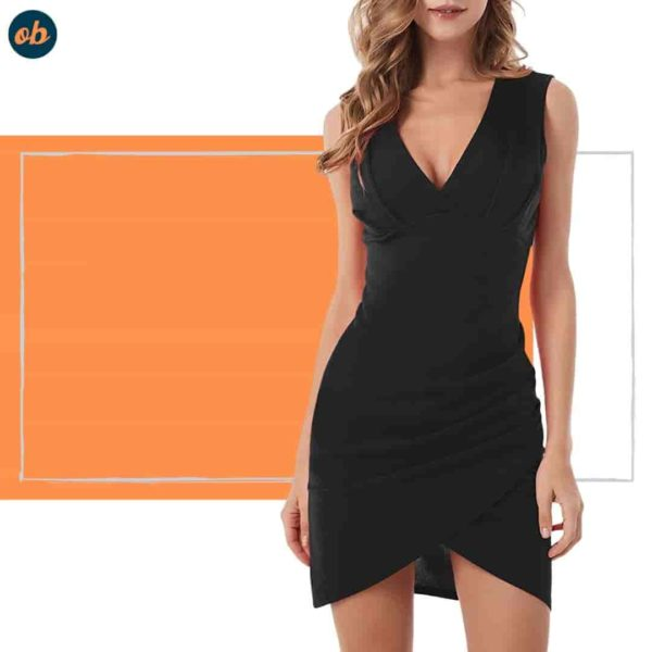 Valentine Cocktail Party Mini Black Dresses