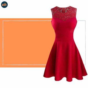 Valentine Floral Sleeveless Dresses