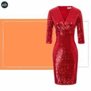 Valentine's Knee-Length Cocktail Dresses