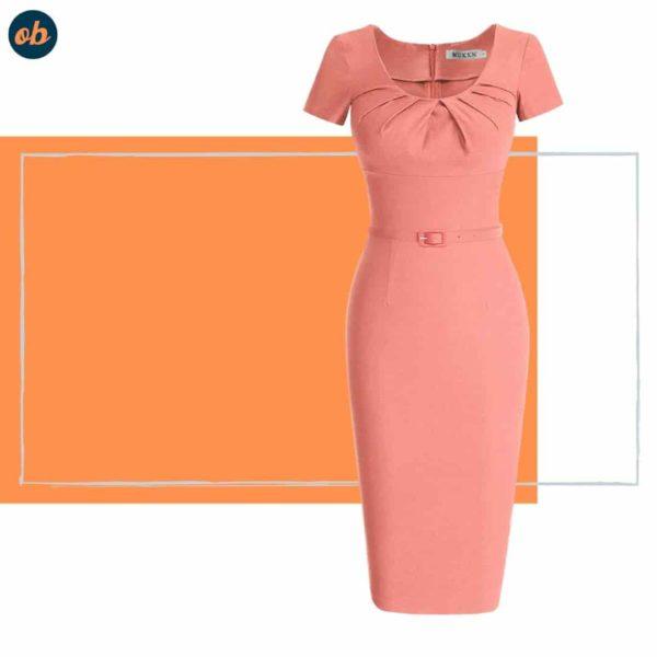 Valentine Short Sleeve Swing Dresses