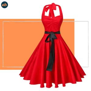 Valentine Polka Dots Cocktail Dresses